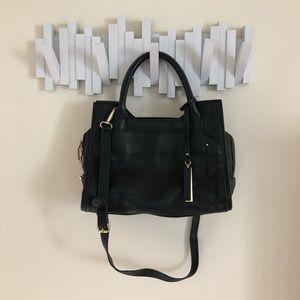 Vince Camuto black leather purse